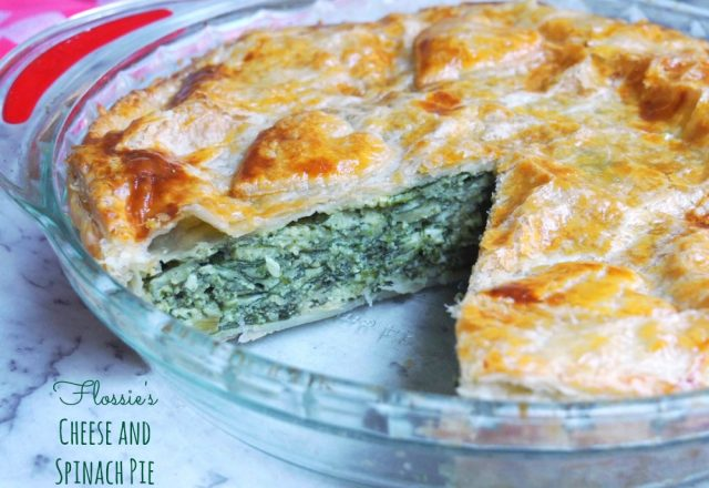 Meatless Monday – Flossie's Cheese and Spinach Pie