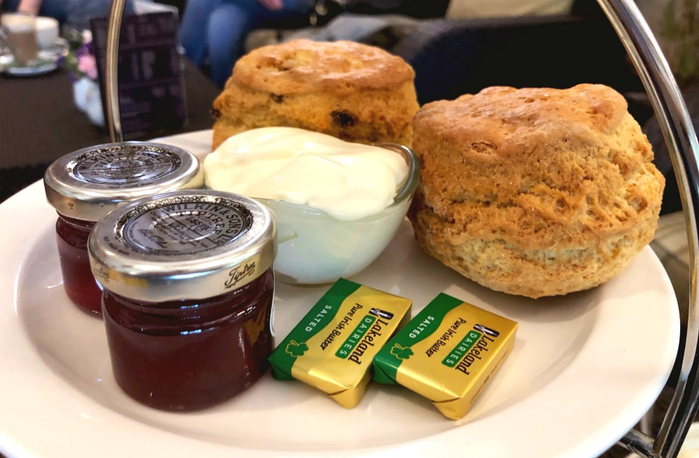 scones teahouse in the woods
