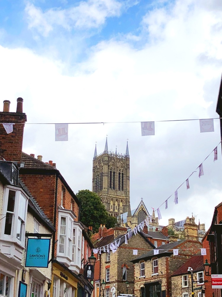lincoln steep hill view