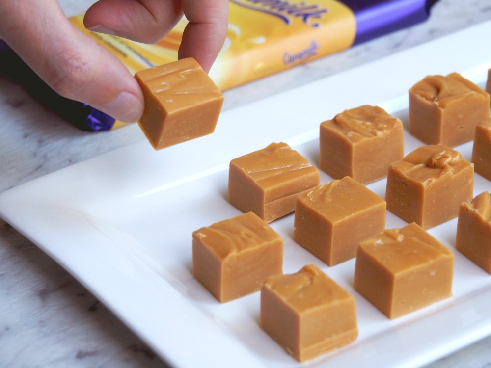 thermomix caramilk fudge