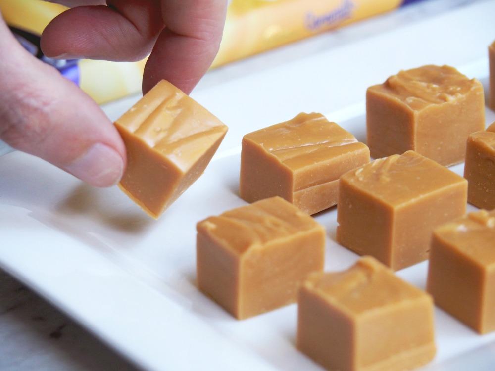 thermomix caramilk fudge piece