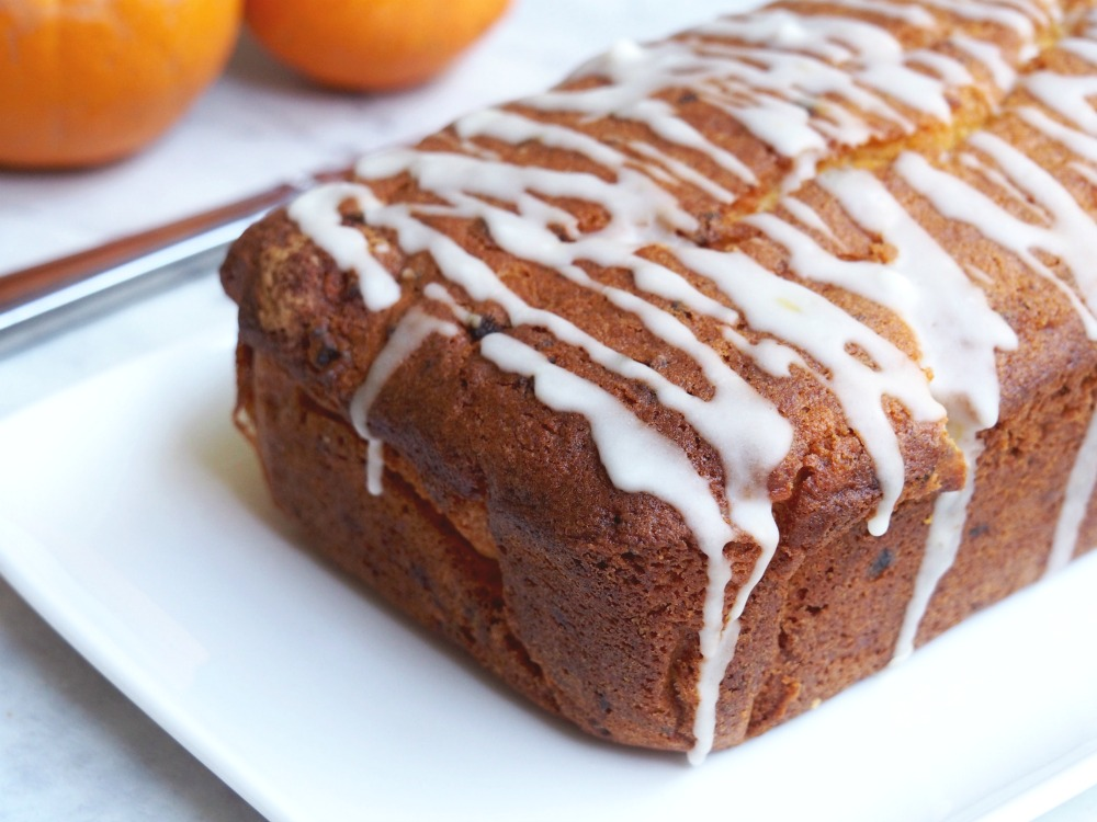 easy orange and apricot loaf uncut