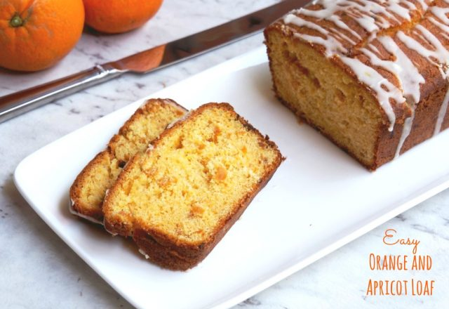 Easy Orange and Apricot Loaf