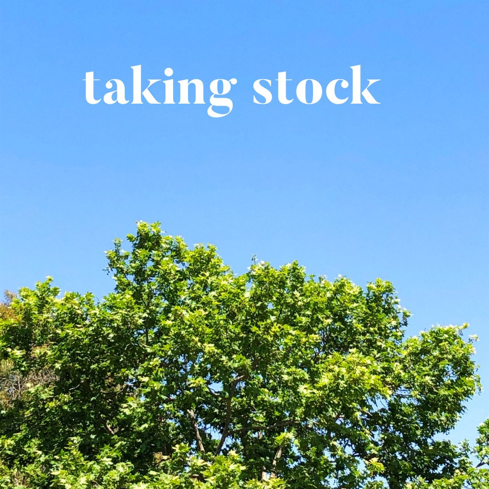 taking stock october 2019