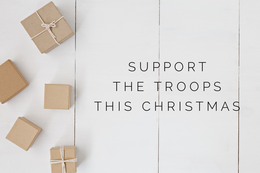 support the troops this christmas