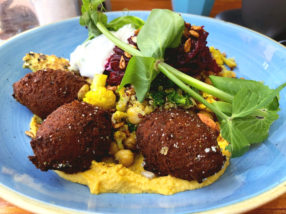 little nel falafel bowl