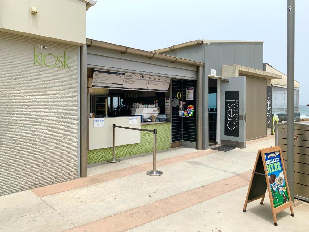 kiosk birubi beach