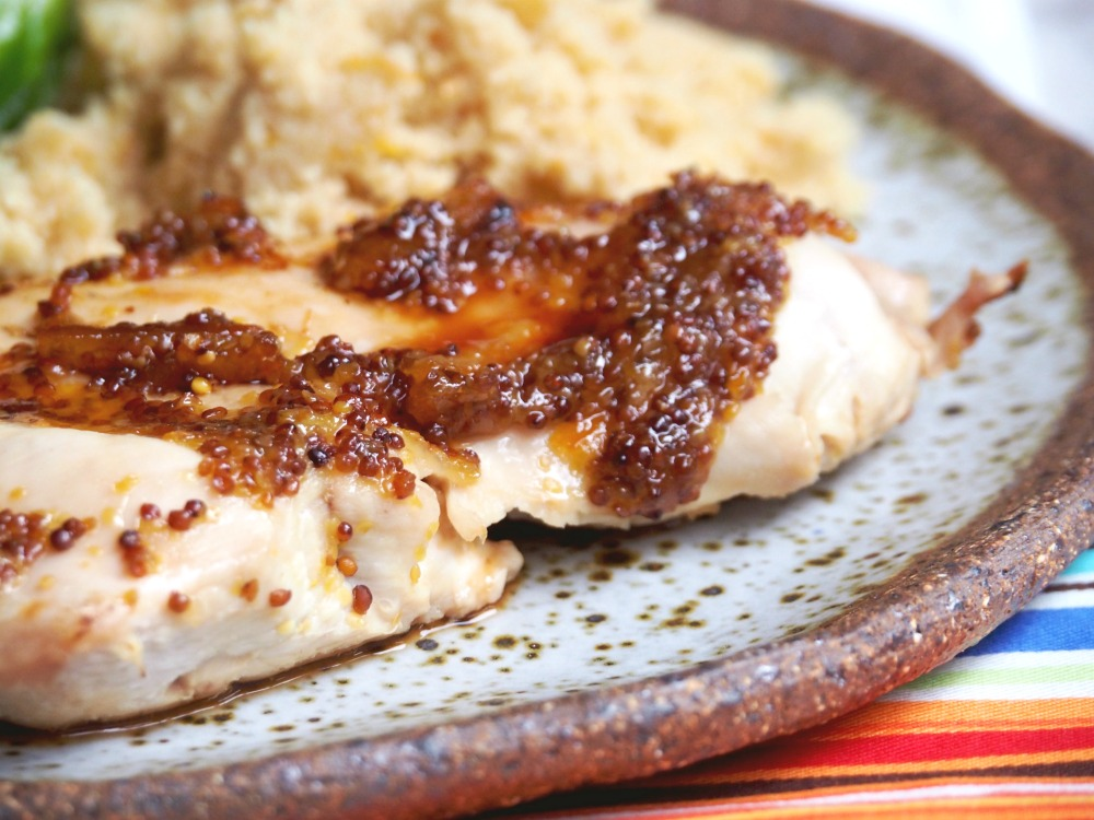 orange marmalade mustard chicken