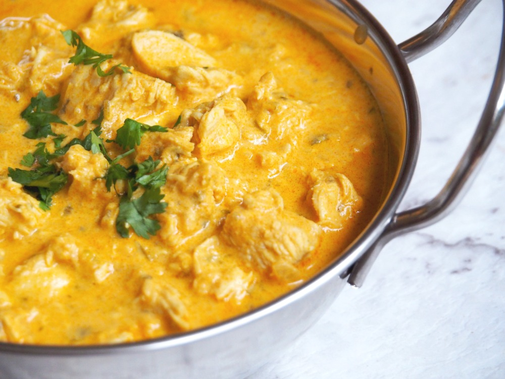 easy chicken yoghurt curry