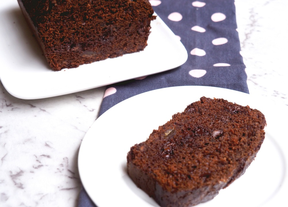date and chocolate loaf