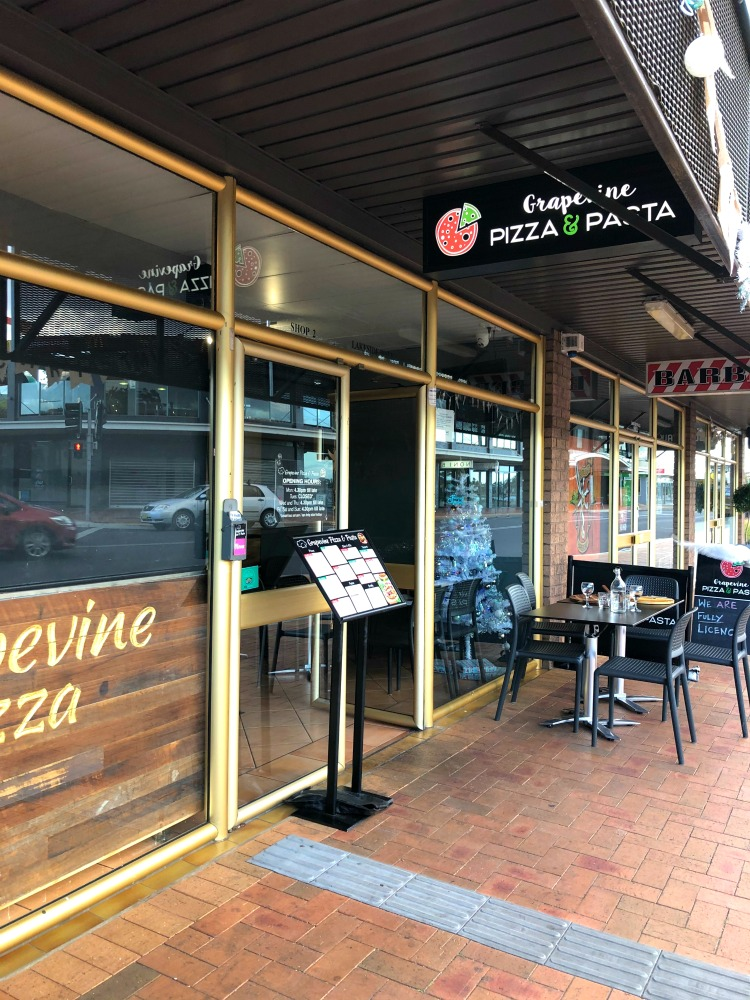 Grapevine pizza Merimbula