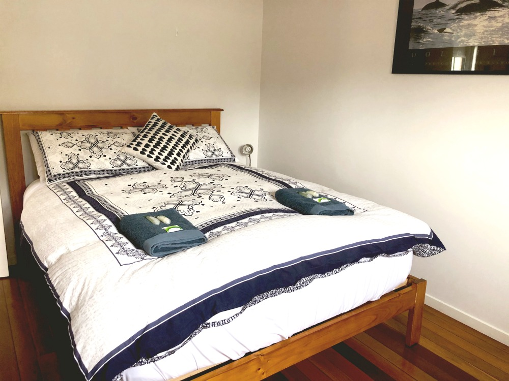 Merimbula pet friendly air bnb bedroom