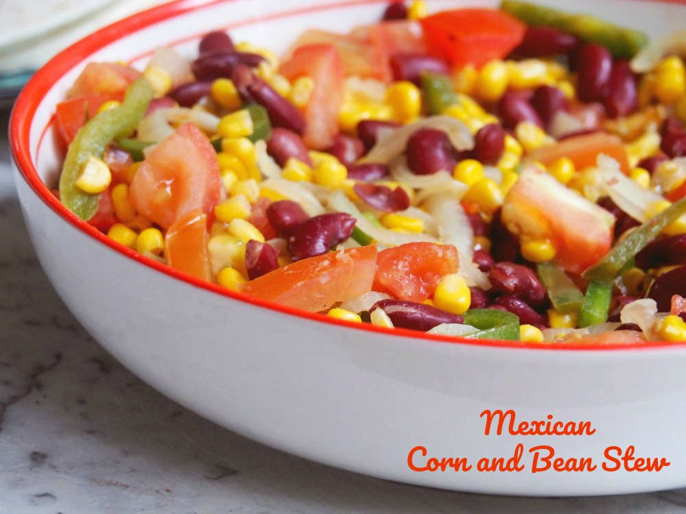 mexican corn and bean stew title