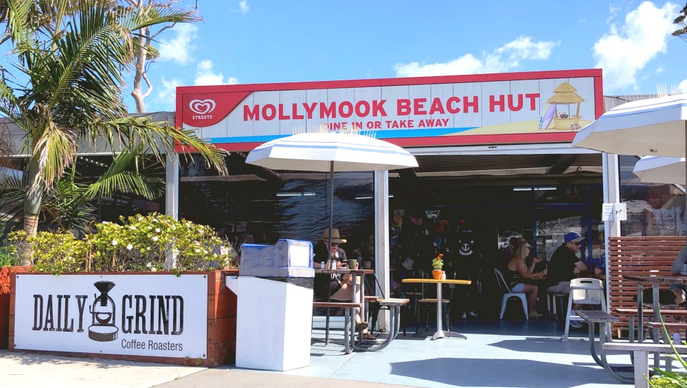 mollymook beach hut
