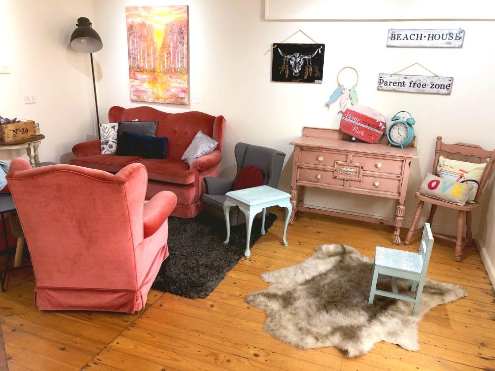 mossy cafe inside