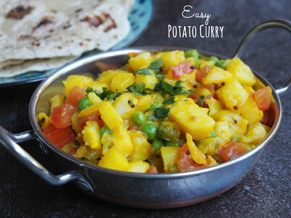 easy potato curry title