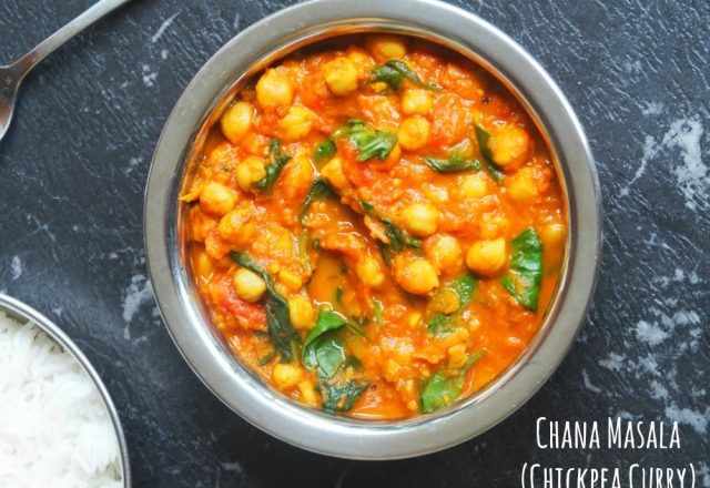 Meatless Monday: Chana Masala (Chickpea Curry)