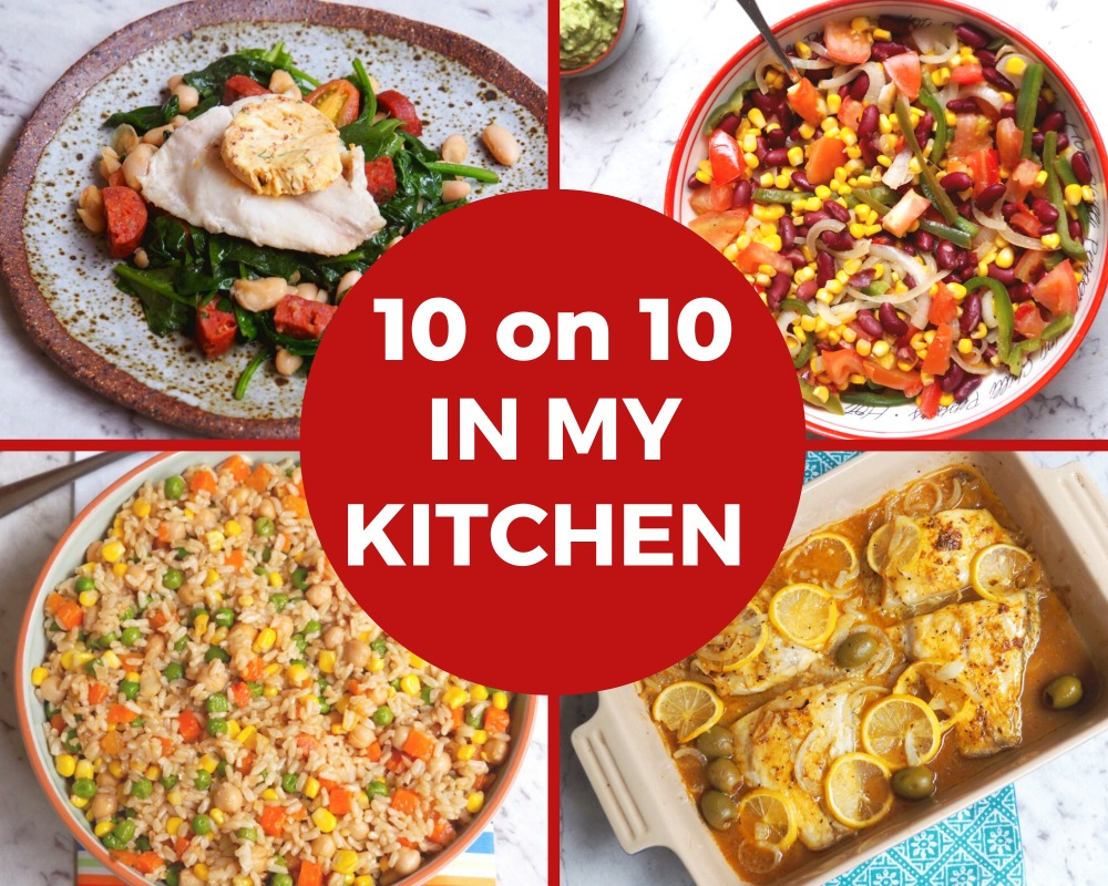 10 on 10 in my kitchen May 2020