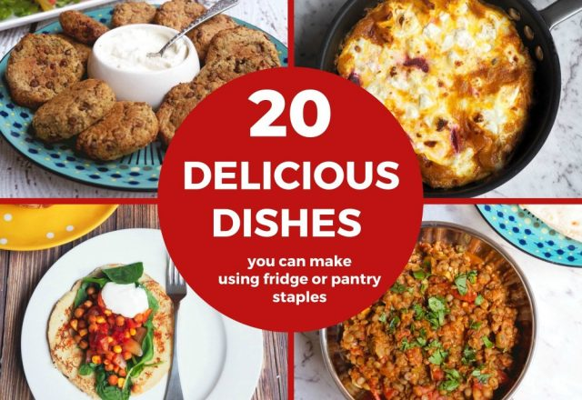 20 Delicious Dishes You Can Make From Pantry and Freezer Staples