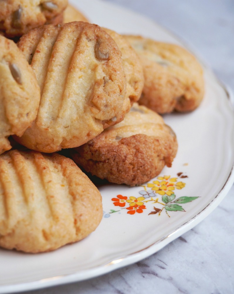 citrus sunflower biscuits 5