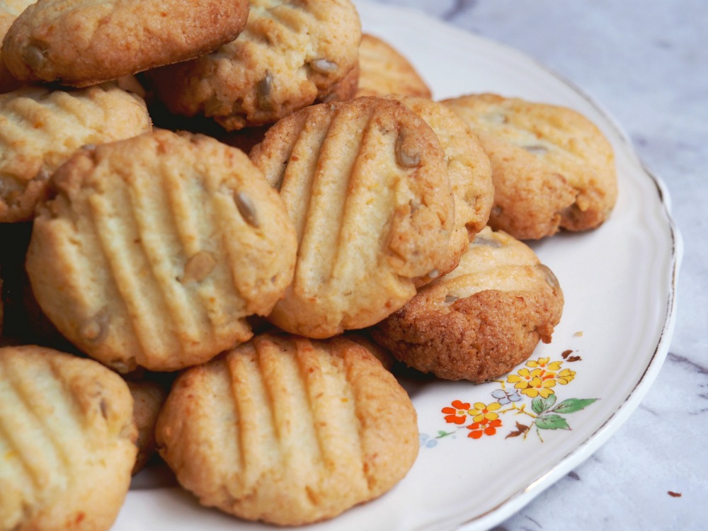 citrus sunflower biscuits 4