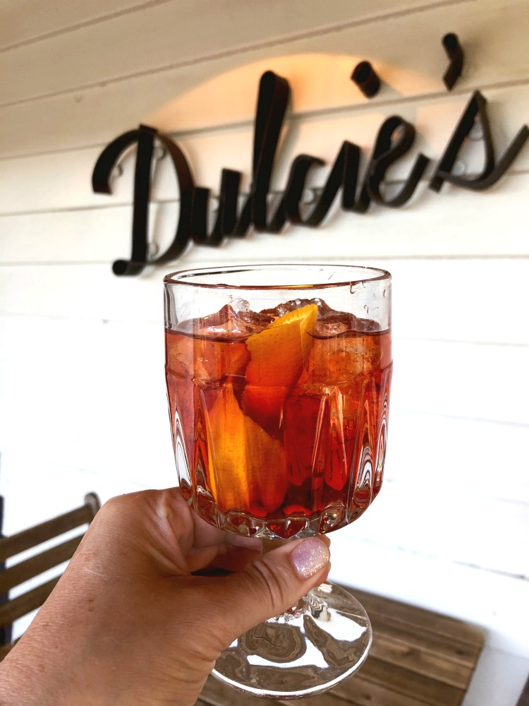 Dulcies Cottage Cocktail