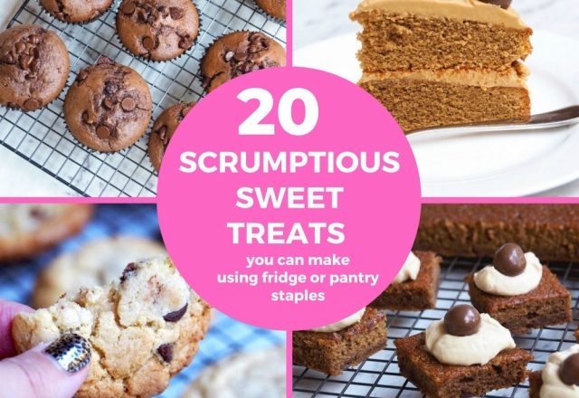 20 Scrumptious Sweet Treats You Can Make From Fridge or Pantry Staples