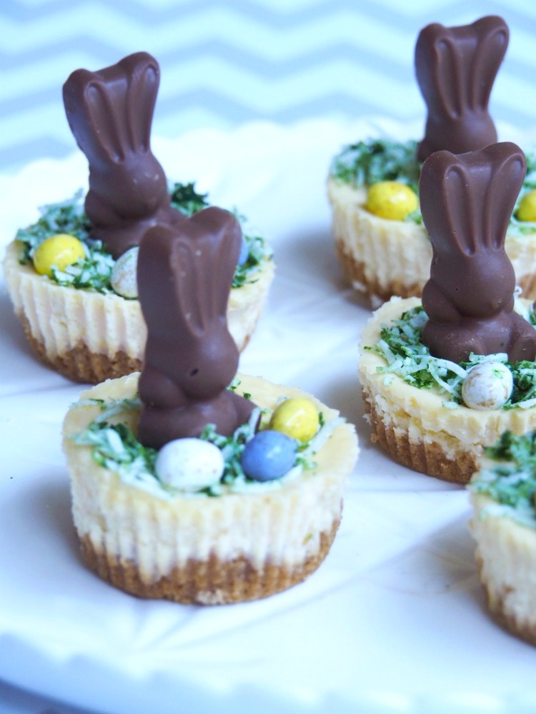 mini easter bunny malteser cheesecake 3