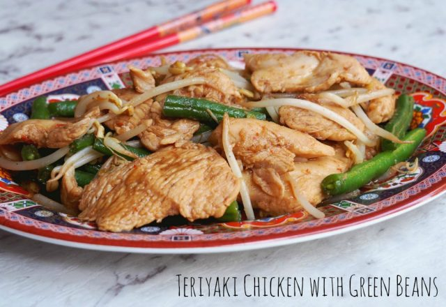 Teriyaki Chicken with Green Beans