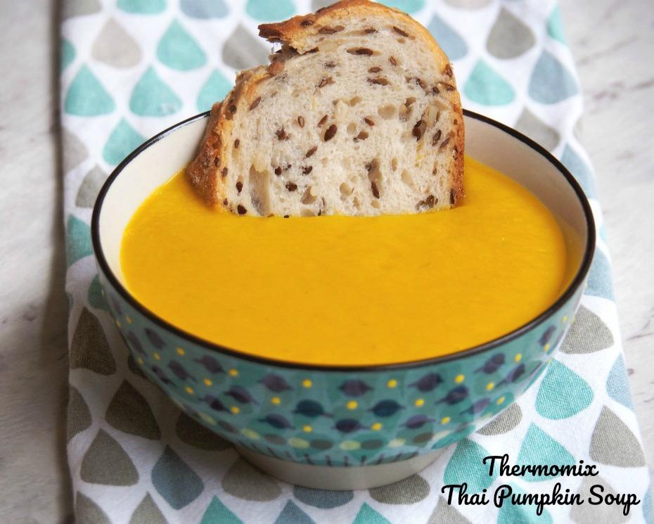 Thermomix Thai Pumpkin Soup