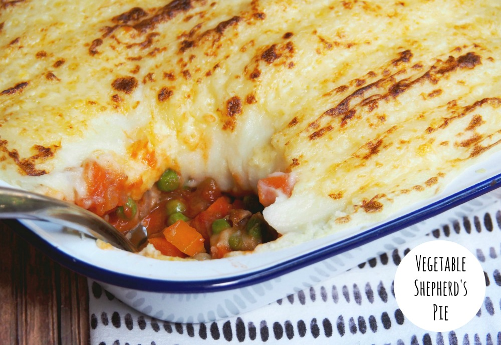 vegetable shepherds pie