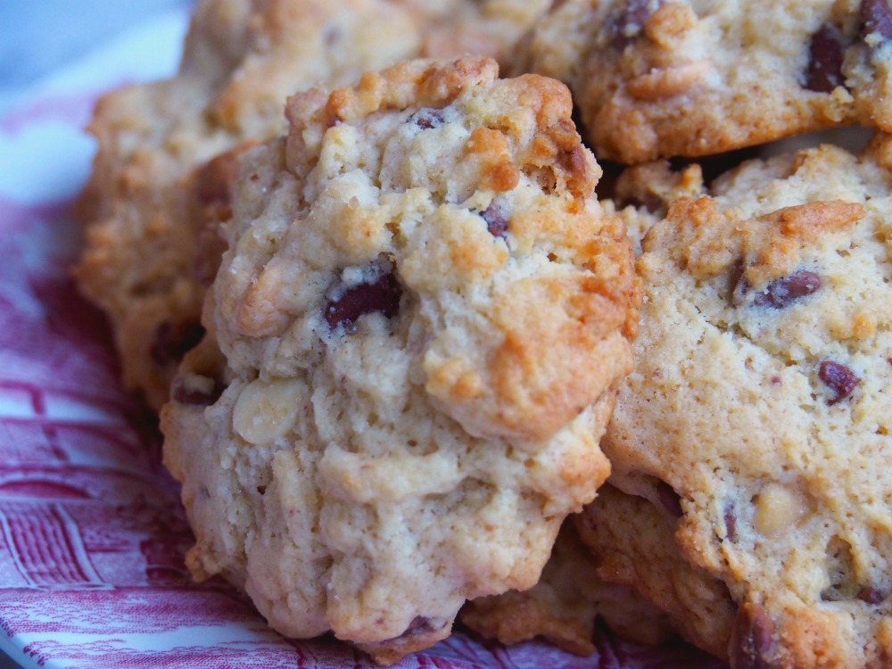 easy choc chip rock cakes