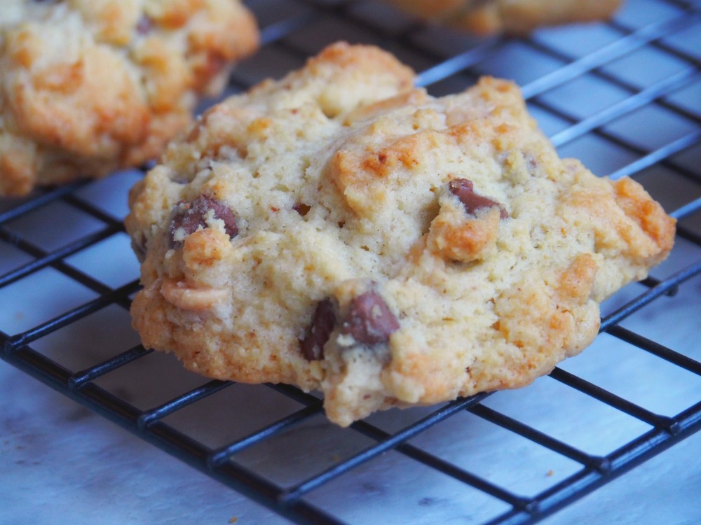 easy choc chip rock cakes individual