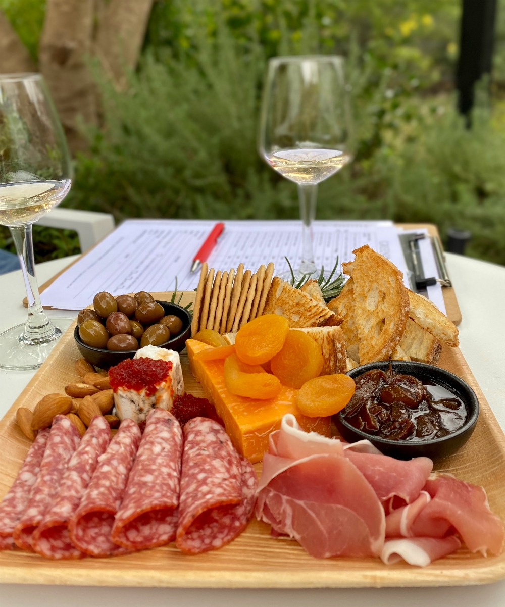greenway wines antipasto plate