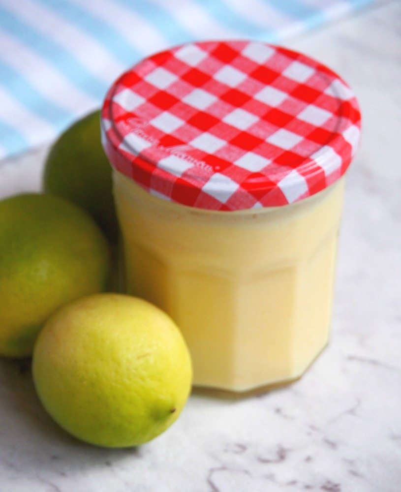 jar of lime butter