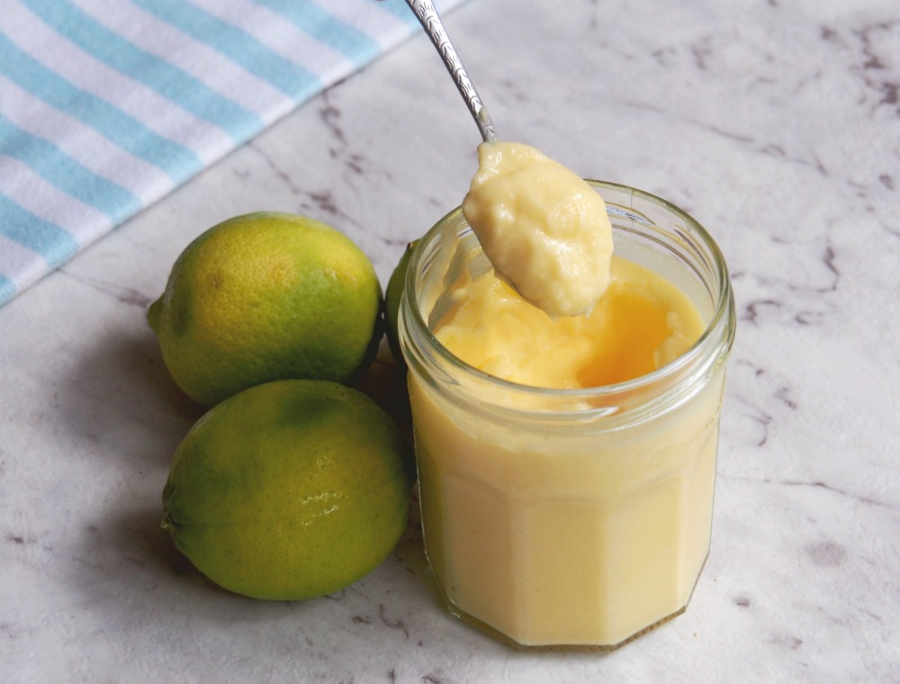 spoonful of lime butter