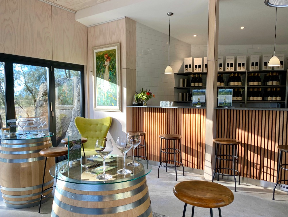 inside cellar door winmark wines