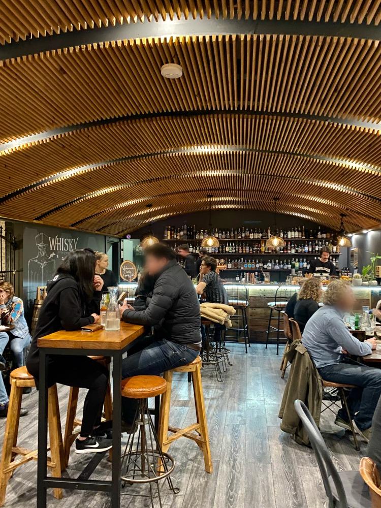 interior of bootlegger bar Katoomba