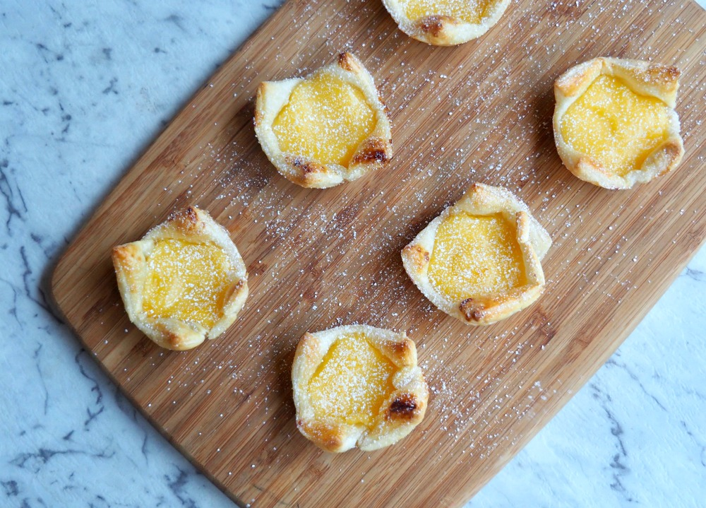 lime butter puffs from above