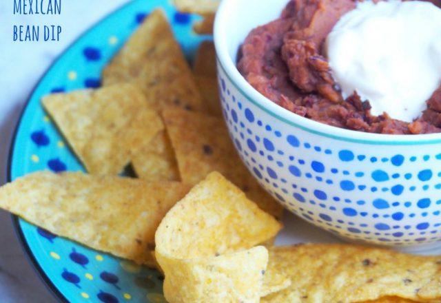 Meatless Monday – Mexican Bean Dip