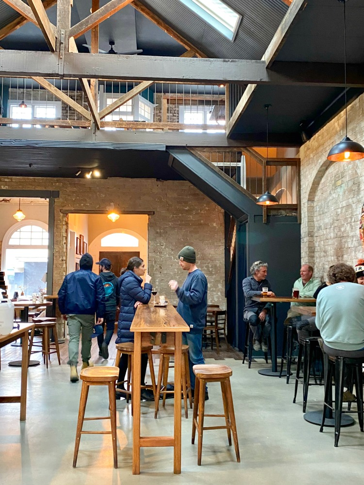 inside mountain culture brewery