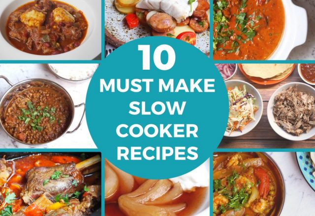 10 Must Make Slow Cooker Recipes
