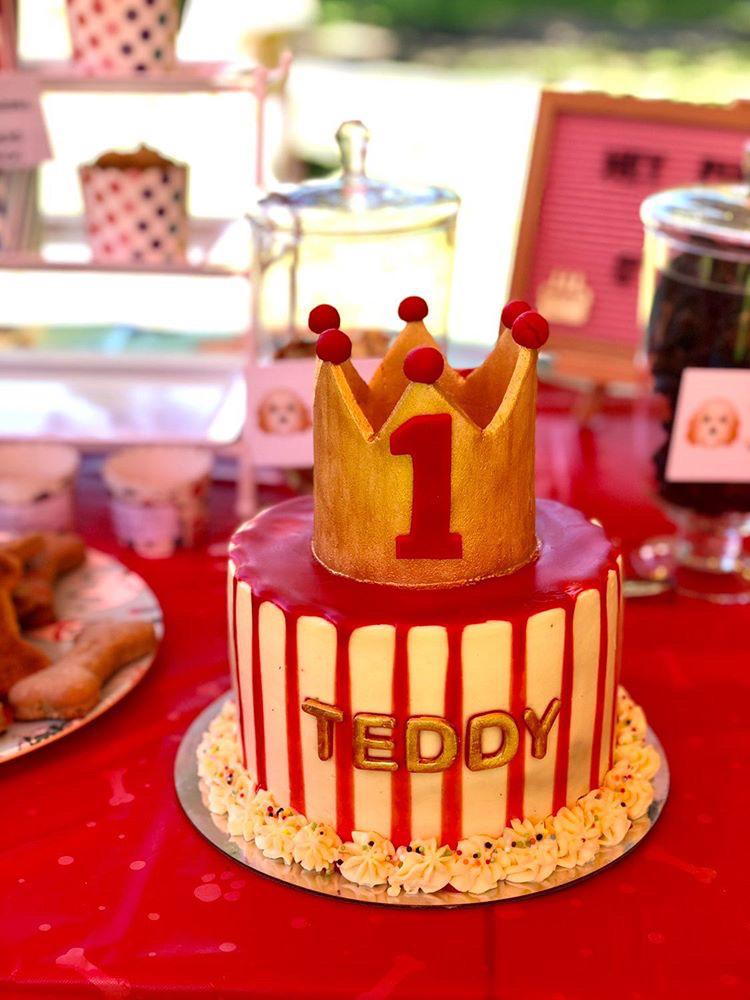 dog birthday cake 1st birthday