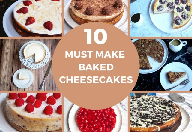 10 Must Make Best Baked Cheesecakes