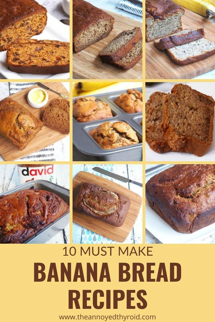 banana bread recipes pin