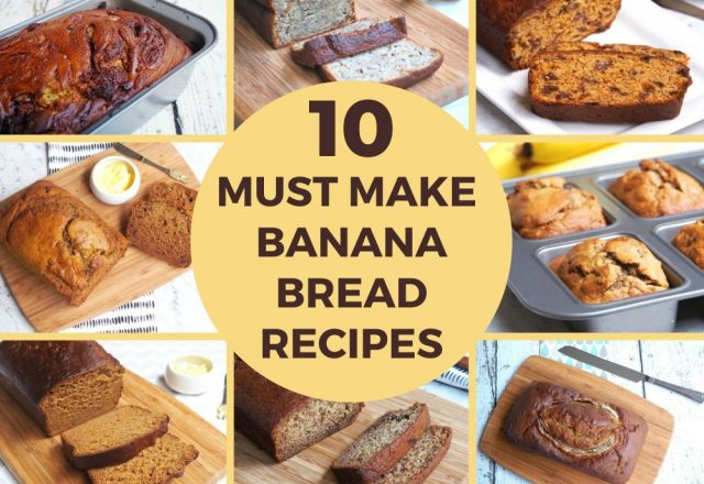 10 Must Make Banana Breads