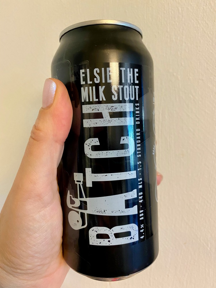 can of Elsie The Milk Stout