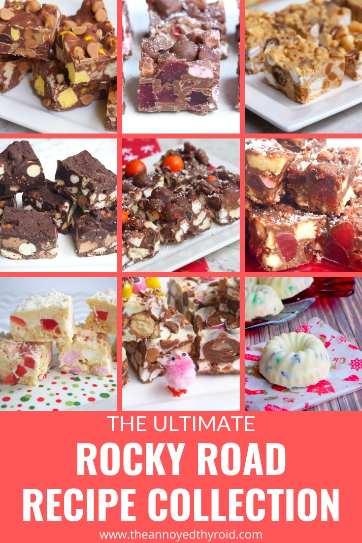 ultimate rocky road recipe collection pin