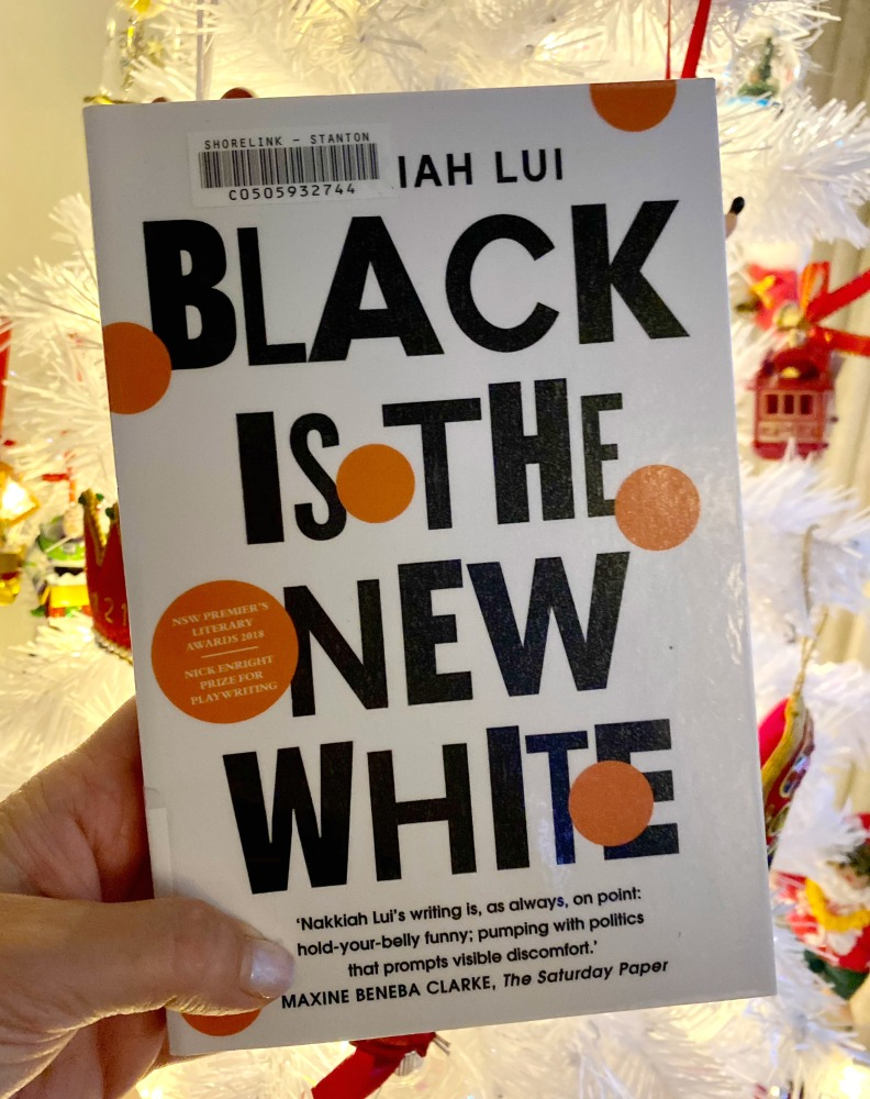 Front cover of Black is the New White