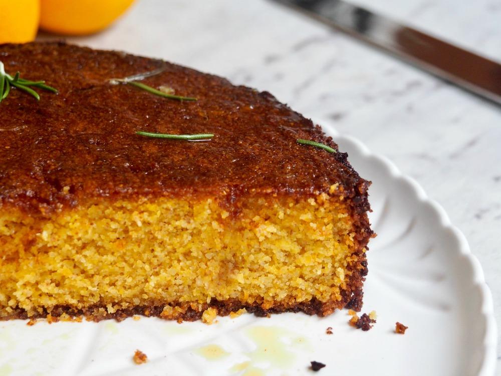 gluten free cut orange cake